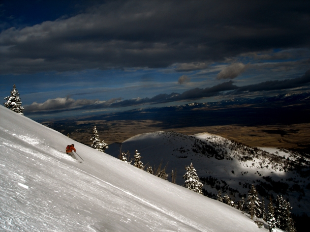 Early Season N. Bridgers  Photo: Evan Johnson