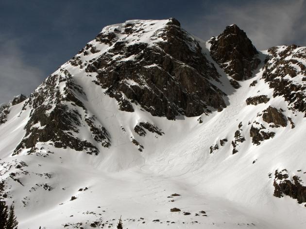 Late season epic up Black Mountain