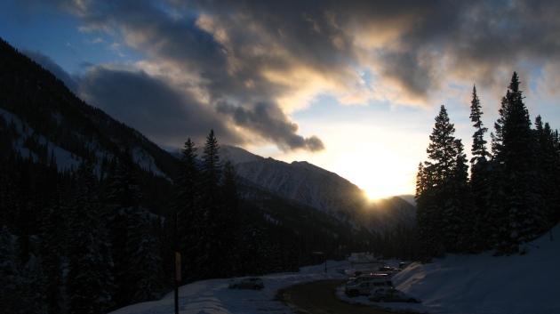 Snowbird Sunset
