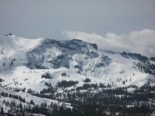 Kirkwood California from Carson Pass