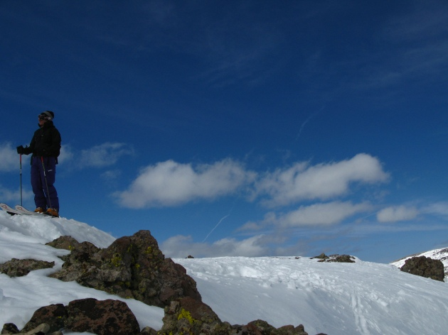 Sonja Lercher on Carson Pass