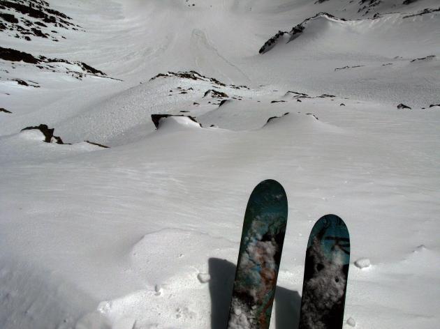 Ready to ski Gallatin Peak