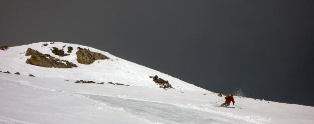 Rob rips Gallatin Peak