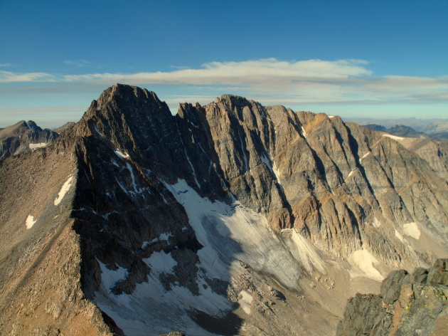 Granite Peak from the summit of Tempest Mountain
