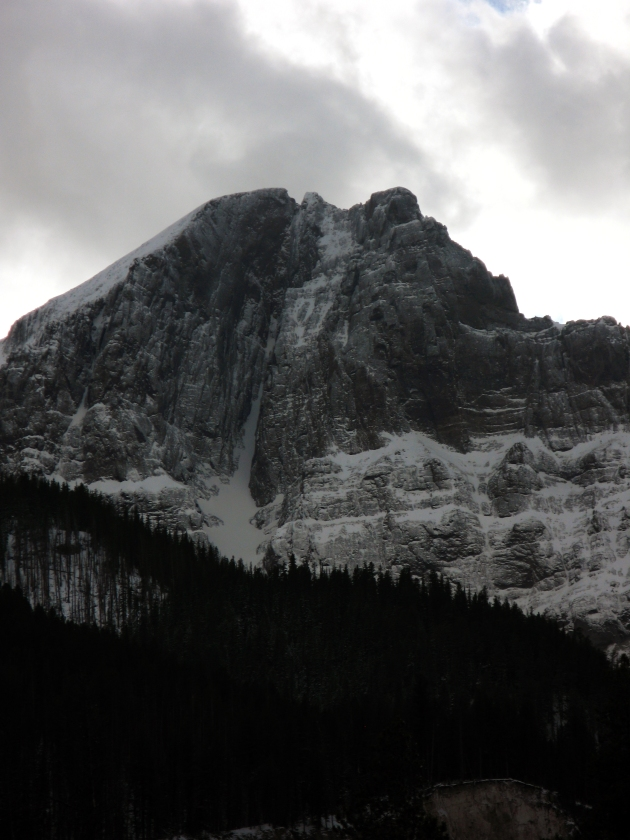 Abiathar Peak. Yes this face is skiable, and yes I want to make an attempt this winter.